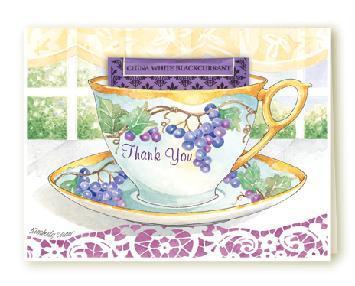 Grape Thank You Card