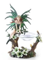 Green Fairy Oil Incense Burner