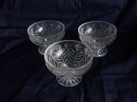 Crystal Dessert Bowls