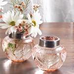 Pink Scrolled Heart Frog Jars