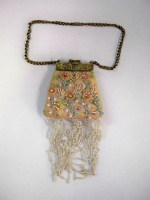 Purse Ornament - Peach w/Accents