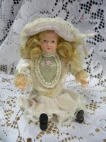 Victorian Doll Ornament